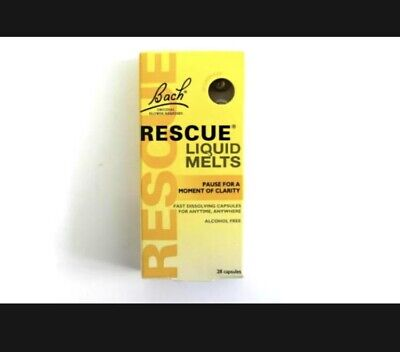 £2.89 • Buy Bach Rescue Remedy Liquid Melts - 28 Capsules (Best Before 05/2021)