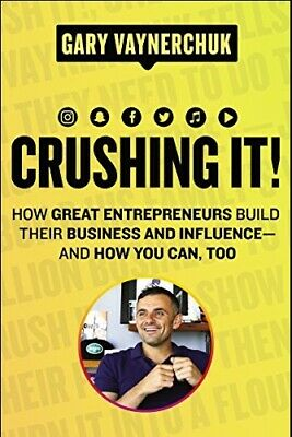 AU12 • Buy Crushing It!: How Great Entrepreneurs Build Business And Influence - AndHow You