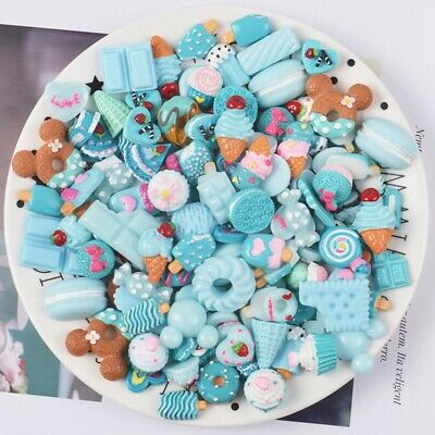 AU10.07 • Buy Keychain Scrapbooking Supplies Crafts Slime Charms Beads Nail Decoration