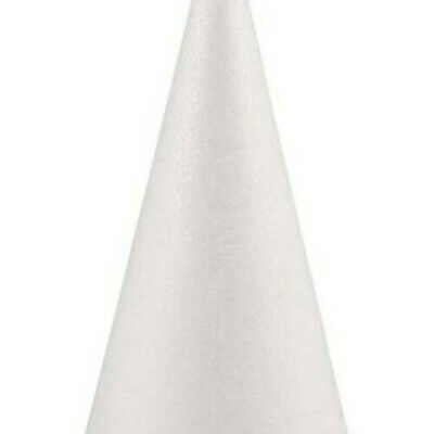 £5.99 • Buy Polystyrene Solid Cone Shape Christmas Tree Styrofoam Forms Molds For Decal#QH