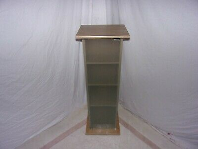 £3 • Buy Shelf Unit With Frosted Glass Door Used