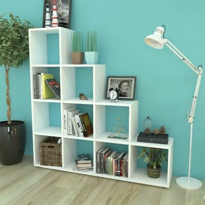 £204.49 • Buy Staircase Bookcase/Display Shelf 142  White A5M5