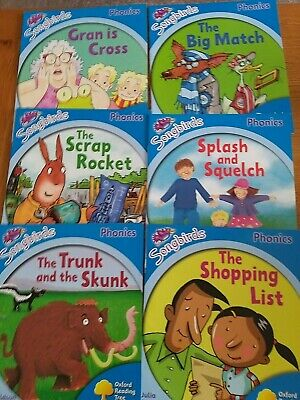 £14.99 • Buy Oxford Reading Tree Songbirds Phonics Stage 3 Early Learning To Read X 6 Books