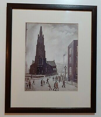 £9 • Buy Framed Print By Chris Lowry The Original Was Made In 1928