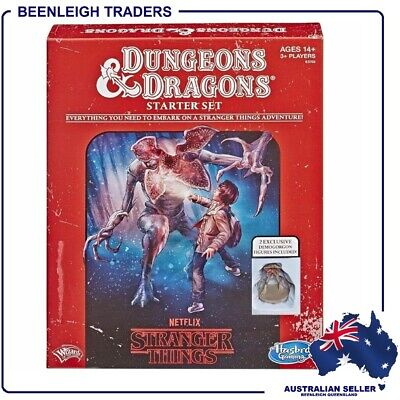 AU44.99 • Buy Dungeons & Dragons - STRANGER THINGS STARTER SET - D&D Role Playing Game - New