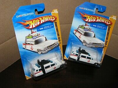 £12.95 • Buy Hot Wheels 2010 #25 New Model Ghostbusters Ecto-1 Lot Of 2
