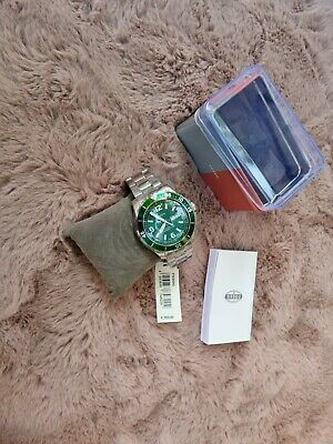 View Details New Fossil Watch Green FS6590. RRP £150 • 59.99£