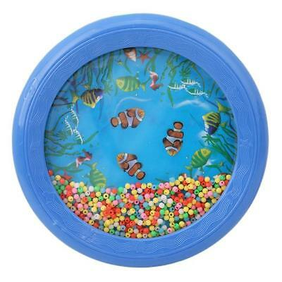 £3.99 • Buy Ocean Wave Bead Drum Sea Sound Musical Educational Toy For Kid Child Fun NEW YW