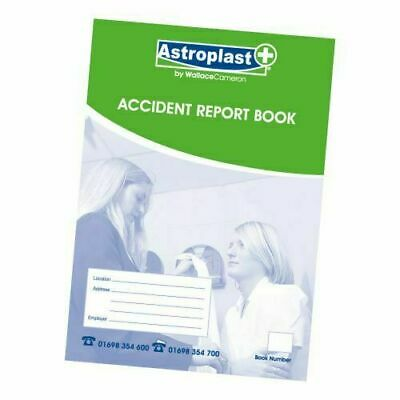 £3 • Buy 1 Astroplast Accident Report Book HSE A5 New