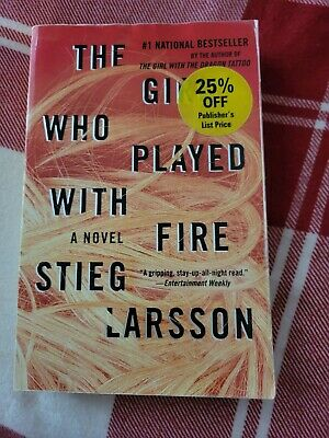 $3 • Buy The Girl Who Played With Fire (Millennium ) - Hardcover By Stieg Larsson - GOOD