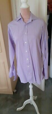 £1.60 • Buy Gents M & S SARTORIAL LILAC Shirt.size 14.5 Never Worn