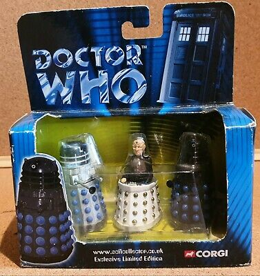 £16.99 • Buy Doctor Who - Classic Series - Daleks & Davros - Corgi Die Cast - Limited To 5000