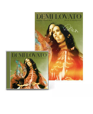 £29.99 • Buy Demi Lovato - Dancing With The Devil CD With SIGNED Poster UK Exclusive