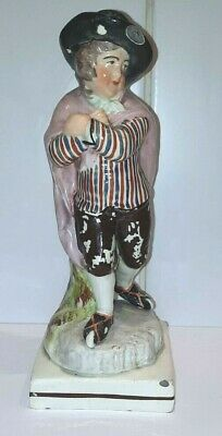 £24.99 • Buy ANTIQUE STAFFORDSHIRE FIGURES, EARLY 19th CENTURY,  19.5  CMS HIGH