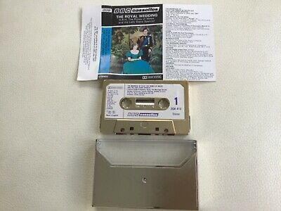 £4.10 • Buy The Royal Wedding-Charles & Diana-Rare Gold Case & Tape Shell, BBC Cassettes Vgc