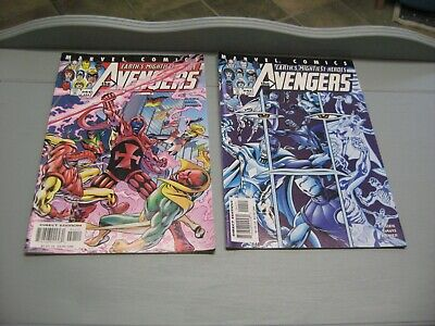 £3 • Buy 2 The Avengers Marvel Comics # 41 And 42 June July 2001 Earths Mightiest Heroes