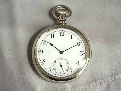 £22 • Buy 1920s 15 Jewel Swiss Gents Pocket Watch. Checked & Working Well. Antique