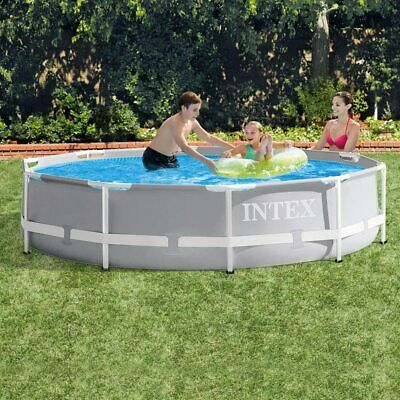 £170 • Buy Intex  10Ft X 30In Swimming Pool Prism Frame Above Ground Large Round Extra NIB