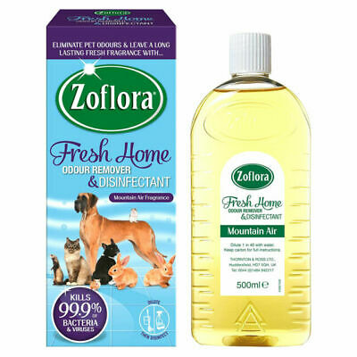 £2.50 • Buy Zoflora Fresh Home Mountain Air Odour Remover And Disinfectant