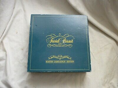 £7 • Buy Complete TRIVIAL PURSUIT Board Games MASTER GAME Genus Edition By PARKER
