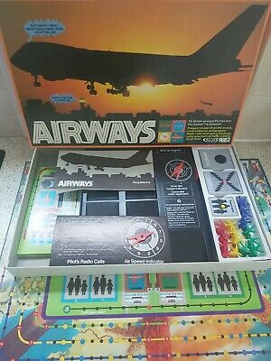 £16.95 • Buy Airways Vintage Board Game By Parker/Palitoy Games 1970s Fully Complete