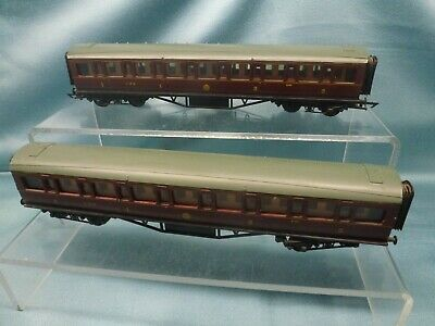 £9.95 • Buy GRAHAM FARISH 'OO' 2 X LMS 1st/3rd MAINLINE COMPOSITE COACHES 9485 ~ UNBOXED