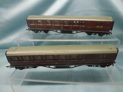 £9.95 • Buy GRAHAM FARISH 'OO' 2 X LMS 3rd MAINLINE BRAKE COACHES 9854 ~ UNBOXED
