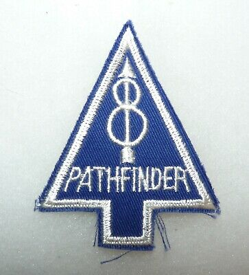 £5.72 • Buy US Army 8th Infantry Division Pathfinder Recondo Pocket Insignia