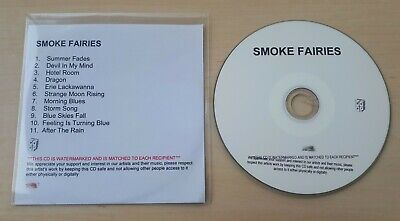 £4.99 • Buy SMOKE FAIRIES Through Low Light And Trees UK Numbered 11-track Promo Test CD