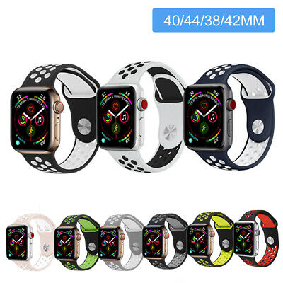 AU7.98 • Buy Sports IWatch Band Wrist Strap For Apple Watch Series 6 5 4 3 2 SE 44 42 40 38mm