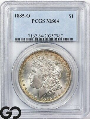 $84 • Buy 1885-O MS64 Morgan Silver Dollar Silver Coin PCGS Mint State 64 ** Nice!