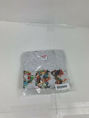 $ CDN106.99 • Buy Supreme Toy Pile Tee Ash Grey SS21 Size L (BRAND NEW) 100% Authentic (IN HAND)