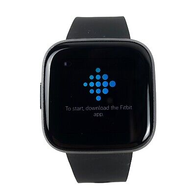 $ CDN106.10 • Buy Fitbit Versa 2 Health & Fitness Smartwatch (FB507BKBK) No Charger Exc Condition