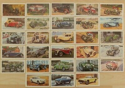 £8.95 • Buy 1981 Grandee Mild Cigar Famous M.g Marques Cars Full Set Of 28 Cards Complete.