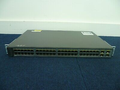 £39 • Buy Cisco Catalyst WS-C3750V2-48PS-S 48x 10/100 PoE Ports L3 Ethernet Managed Switch