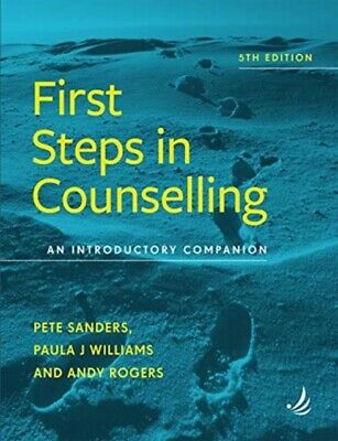 £19.97 • Buy First Steps In Counselling 5th Edition