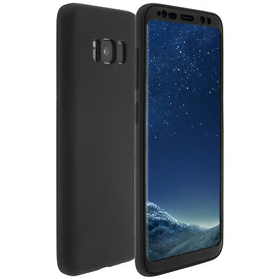 $ CDN7.25 • Buy Full Cover Protective Case Mobile Phone TPU For Samsung Galaxy S8 - Black