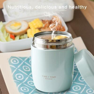 AU13.70 • Buy Stainless Steel Thermos Cup Portable Vacuum Stew Beaker Insulated Soup Lunch Box