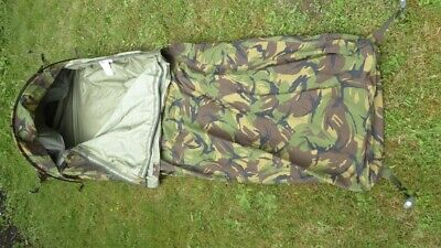 £70 • Buy Dutch Army Hooped Bivvy Bag Gore-Tex® Camouflage Bivy Camo DPM. Size L.
