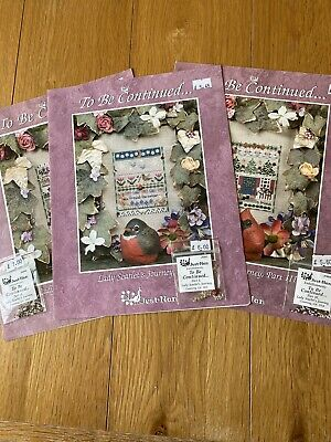 £5 • Buy Just Nan Cross Stitch Charts - Lady Scarlet's Journey In 3 Parts With Beadpacks