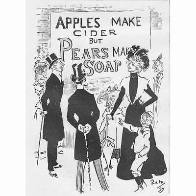 £7.50 • Buy PEARS SOAP Pears Make Soap Victorian Advertisement 1899