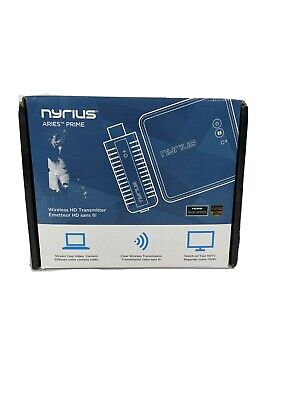 £100.64 • Buy Nyrius Aries Prime Wireless Video HDMI Transmitter & Receiver For Streaming H...