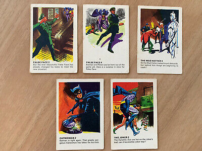 £14.99 • Buy Vintage 1966 Batman Trade Cards X 5 Mcleans Toothpaste - Rare