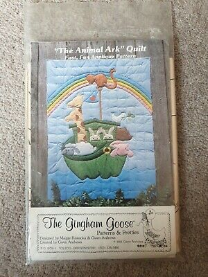 £0.99 • Buy The Gingham Goose   The Animal Ark  Quilt Pattern