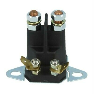 £11.68 • Buy 4Pole12V Solenoid Fits Many Lawn Tractor Ride On Mower 1134-2946-0218736100/0 UK