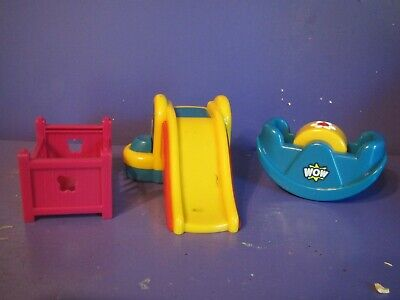 £3.57 • Buy Little Tikes Play Toys  Lot Of 3   SEE SAW...CRIB   SLIDING BOARD - Vintage