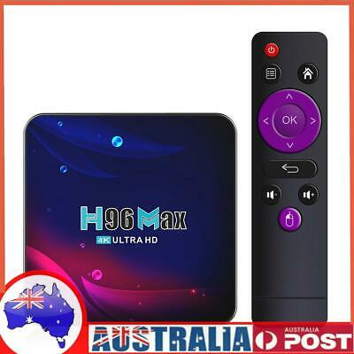 AU63.25 • Buy H96 Max V11 TV Box Android 11.0 RK3318 Bluetooth-compatible 4.0 WiFi 4K Med