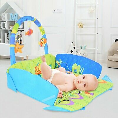 £39.99 • Buy Toddler Gym Floor Baby Play Mat Musical Activity Center Kick And Play Piano Toy