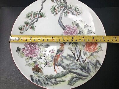 £19.99 • Buy Antique Beautiful Oriental Hand Painted Chinese Porcelain Plate