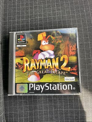 £1.80 • Buy Rayman 2 The Great Escape - Playstation 1 - *complete*